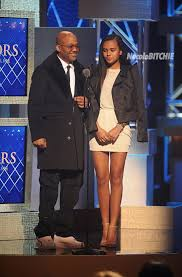 Dame Dash Presents the BET  Visionary Award to Kanye West, accompanied by his beautiful daughter.